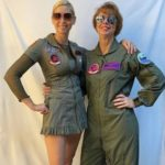 Two Lady Fighter Pilots